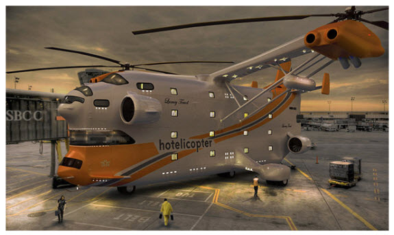 """hotelcopter"" (buzz)"